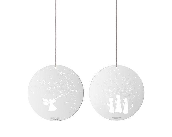 Georg Jensen December Tales små ornamenter - engel og konger - Jul - Sæson - Bolig
