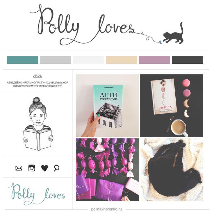 #Blog design for Polly loves