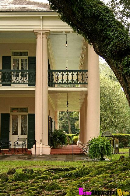If you are visiting Louisiana you have got to make a stop at the beautiful Oak Alley plantation. This gorgeous mansion is located nearby the Mississippi River, and is famous for its driveway lined with enormous oak trees.