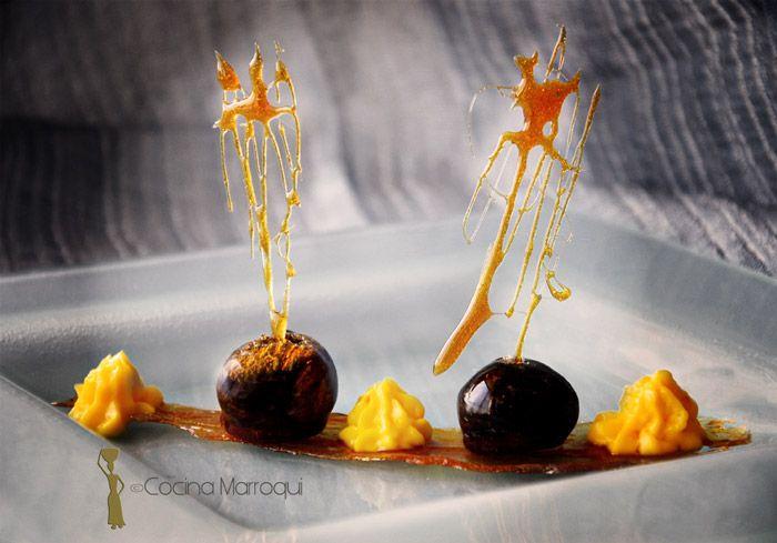 Nueva Cocina Marroqui: Higos con Mahia... y magia