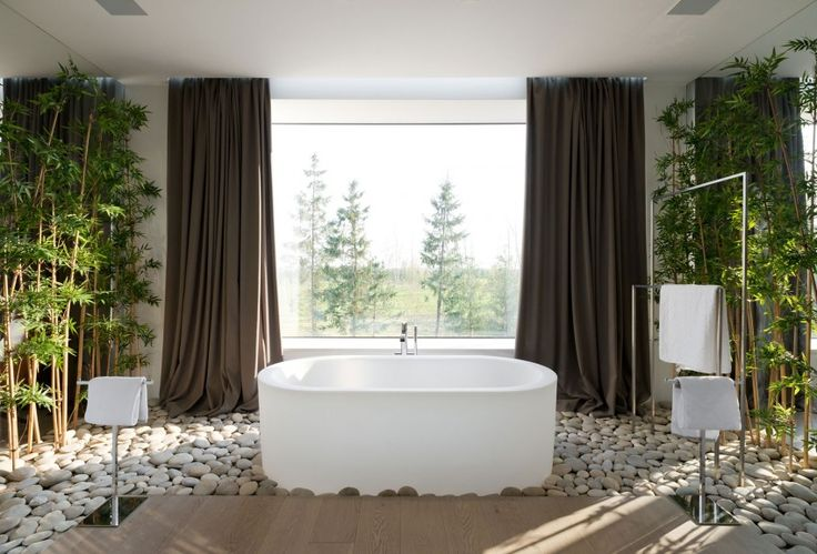 Still not sure about giving up the space for stand-alone bathtub & what do you think about an entire floor of stones?