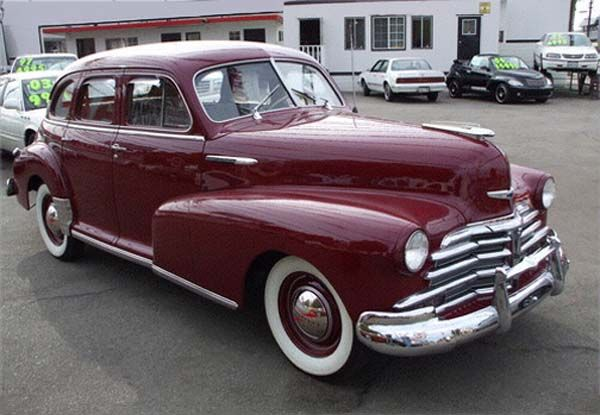 1948 Chevrolet 4 door Sedan (maroon) ~ Photo submitted by ...