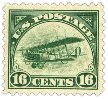 Rare Stamps Worth Money | Within six months, airmail postage had dropped from 24 cents to 16 ...