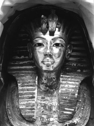 """First glimpse of the gold mask of Tutankhamun, Harry Burton"" It occurs to me (and I have seen this mask in the Egyptian Museum in Cairo) that this is the strongest shot of it. It is a shame the dead King cannot be returned to his finery and his eternal rest. More"