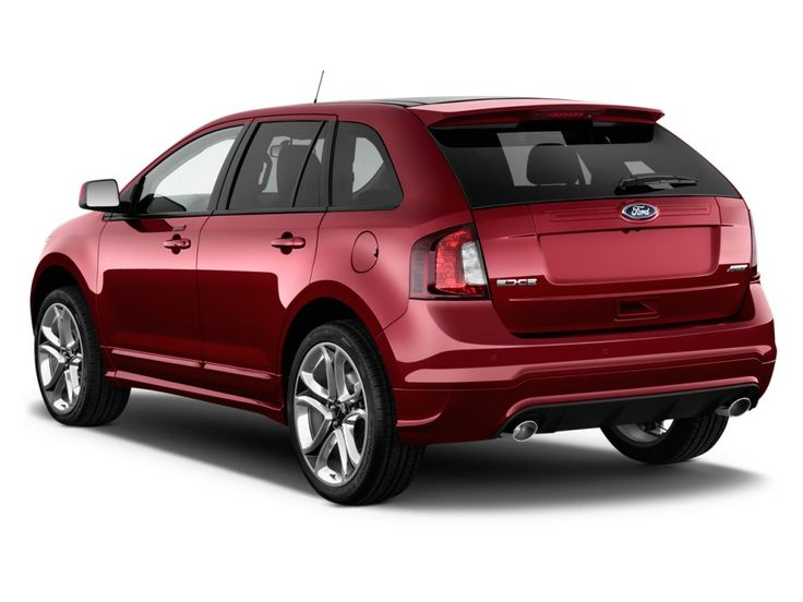 Ford Edge  Ford Edge  Door Sport Fwd Angular Rear Exterior View