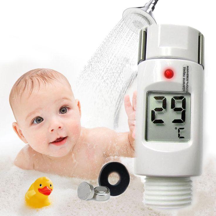 03100 Waterproof Digital Shower Thermometer w/ Alarm Alert