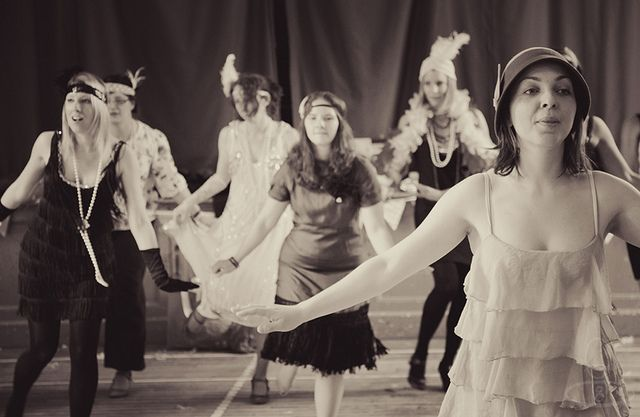 Charleston dance lessons -great idea for a Vintage inspired Hen Party