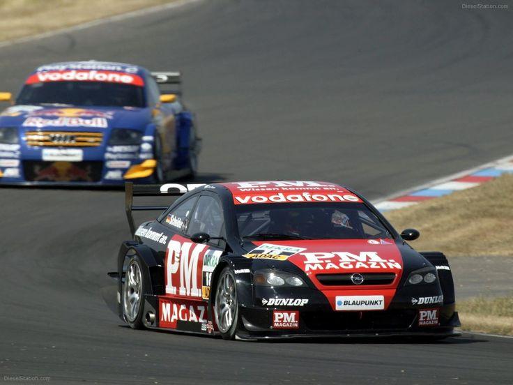 Opel Astra V8 Coupé 2003 DTM Timo Scheider #motorsport #racing #touring #car #motor #sport #passion