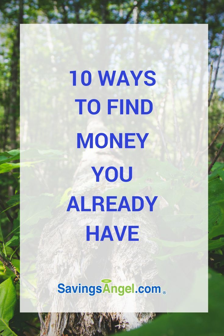 Do you know what hidden money is? Let's find it! 10 ways to find money you already have and find space in your monthly budget. If you're looking at your budget unsure how to make it work, here are 10 ways to find money in your budget that you already have. #frugalliving #savemoney #frugal #budgeting
