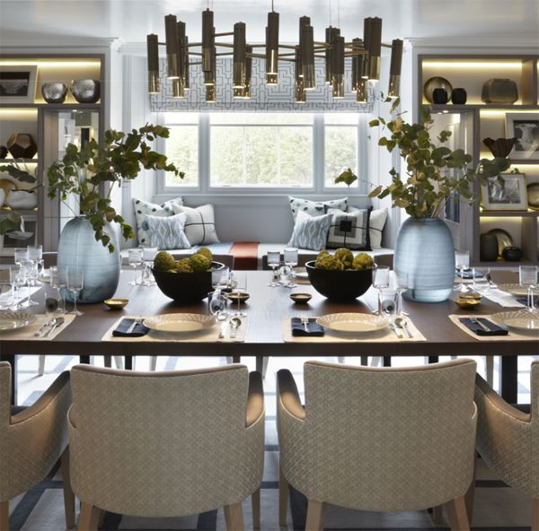 The Debonair Penthouse By A London Interior Designer: 10 Best Dining Rooms Images On Pinterest