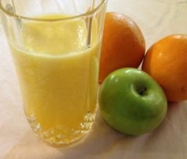 Recipe Pineapple, Apple and Orange Juice by April H - Recipe of category Drinks