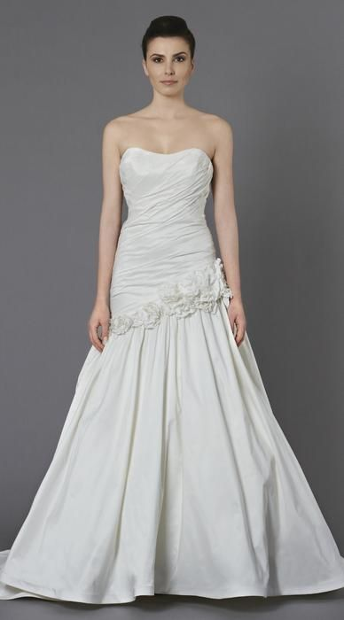 wedding dress by crystal elizabeth