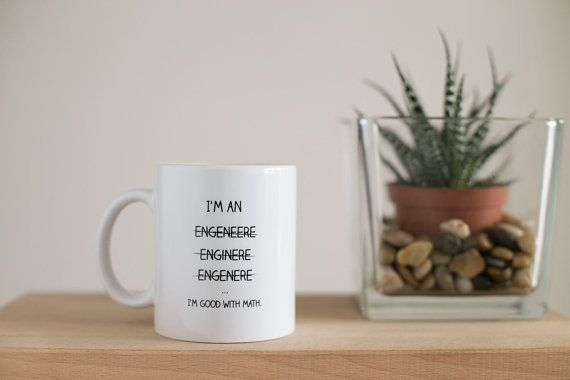 Engineer Mug I'm An Engineer Gift For by HomeDecorDrawing on Etsy