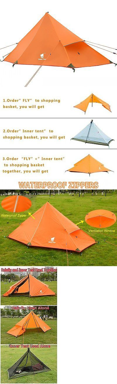 Tents 179010: Geertop 1-Person 3-Season 20D Ultralight Backpacking Tent For Camping Hiking Not -> BUY IT NOW ONLY: $58.79 on eBay!