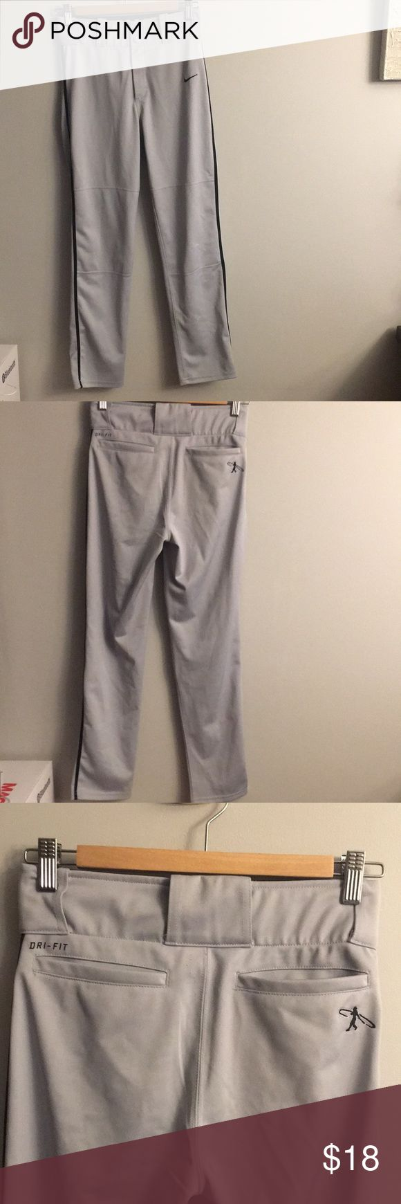 Nike Dri Fit baseball pants Gently worn, for one season Nike Bottoms Sweatpants & Joggers