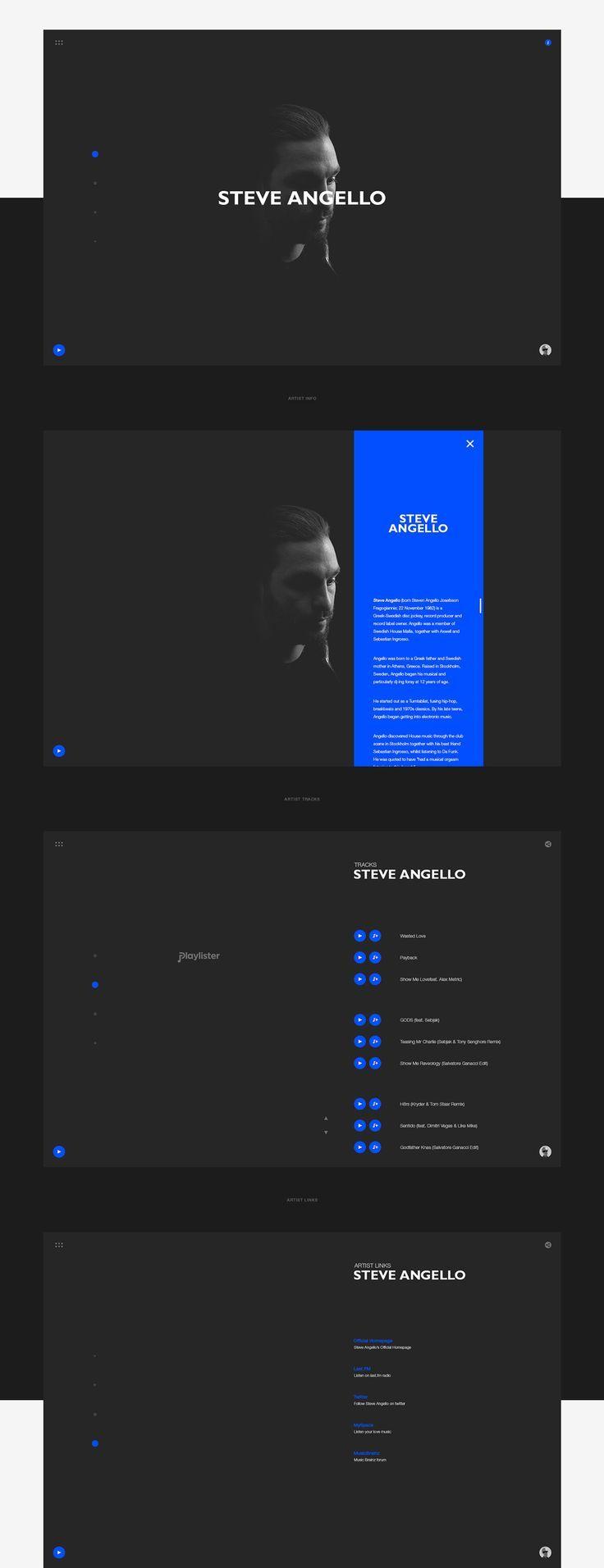 BBC RADIO Website Redesign by Alexey Yurkov & Vadim Omelchenko