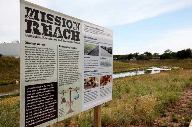 San Antonio River Authority Mission Reach project