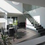 modernes Wohnen, moderner Baustil, Bauhaus, Zukunft, schlicht, Wohnideen, Wohnraumideen