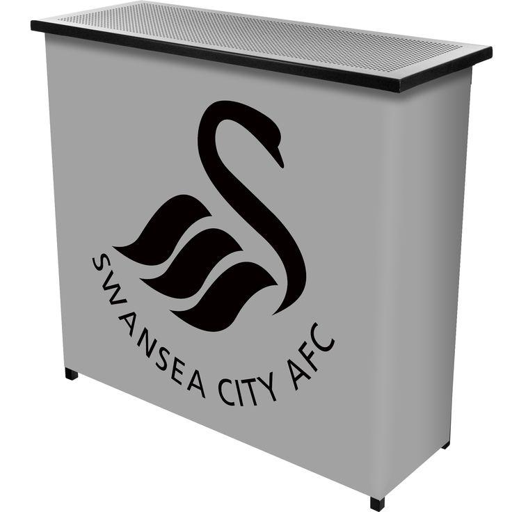Trademark Premier League Swansea City Portable Bar with Case