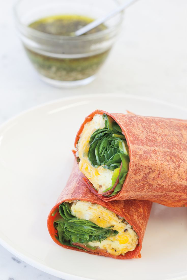 #Epicure Omelette Wrap #goodfoodrealfast