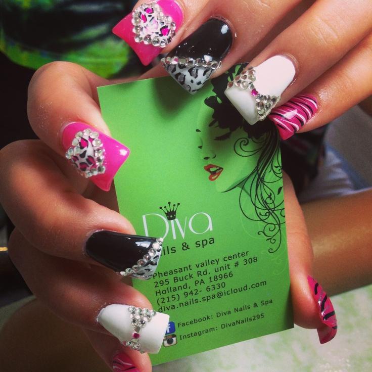 17 best Diva nails 3d design images on Pinterest | Diva nails, 3d ...