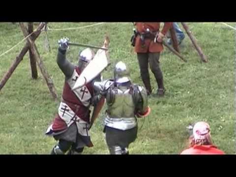 ▶ Malbork-turnieje rycerskie (Malbork-rytířské turnaje) - YouTube