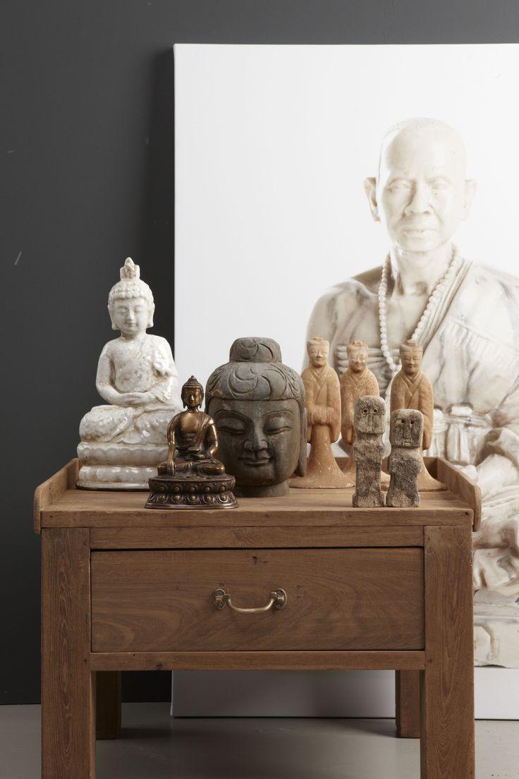 Buddha beelden. Uniek of replica, ze zijn allemaal even prachtig!
