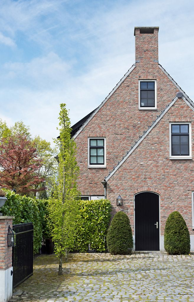 57 best bouwstijl kempisch images on pinterest ramen picture frame and architecture - Small belgian houses brick ...