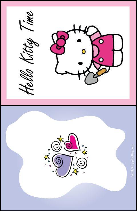 22 best hello kitty images – Free Printable Hello Kitty Birthday Card