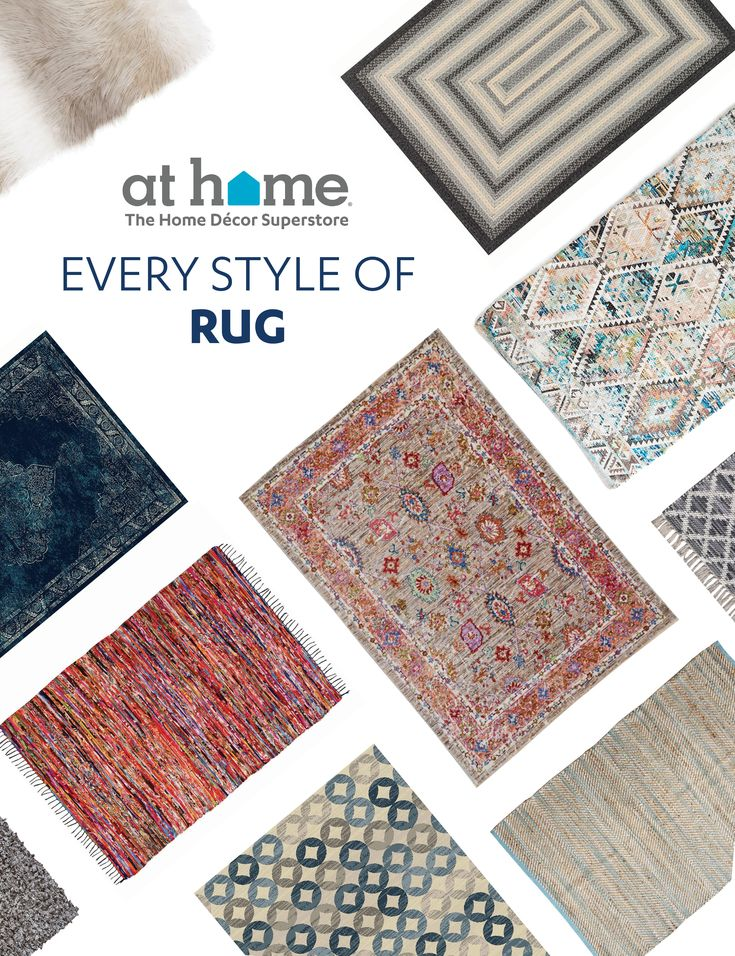 Huge Rug Living Room Ottoman Decor: Big Rugs, Bigger Style! Look For A Patterned Or Solid Rug