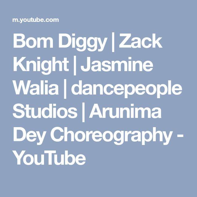 Bom Diggy | Zack Knight | Jasmine Walia | dancepeople Studios | Arunima Dey Choreography - YouTube
