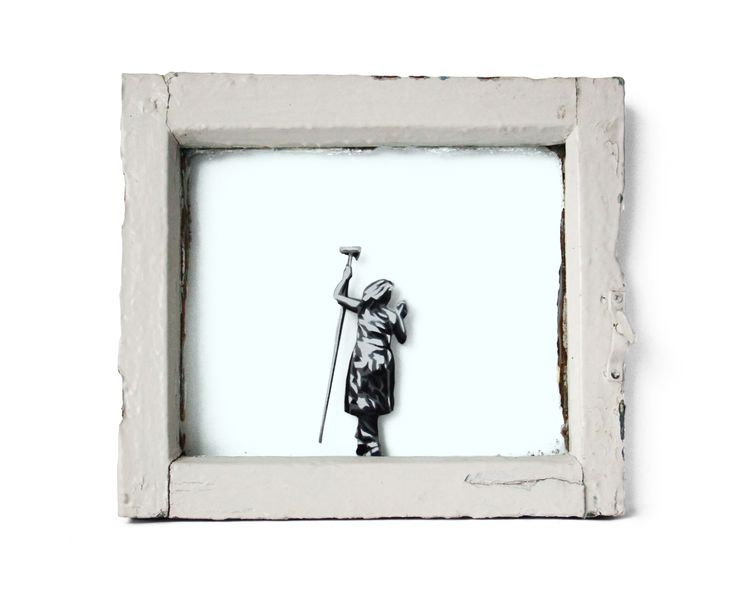 "Slava Ptrk ""Clean"", readymade, 29 х 30 х 5, 2015 #современное #искусство #дизайн #интерьер #design #decor #interior #графика #живопись #contemporaryart #design #streetart #стритарт #abstraction #современноеискусство #арт #slavaptrk"