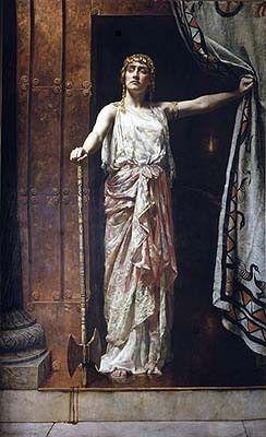 En la mitología griega, Clitemnestra o Clitemestra (en griego, Κλυταιμήστρα)1 fue esposa de Agamenón y reina de Micenas