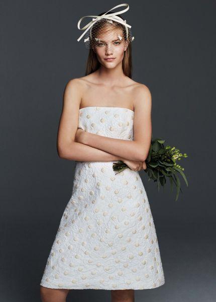 Vestidos de novia cortos 2017: los diseños más TOP. ¡Elige el tuyo! Credits: Max Mara