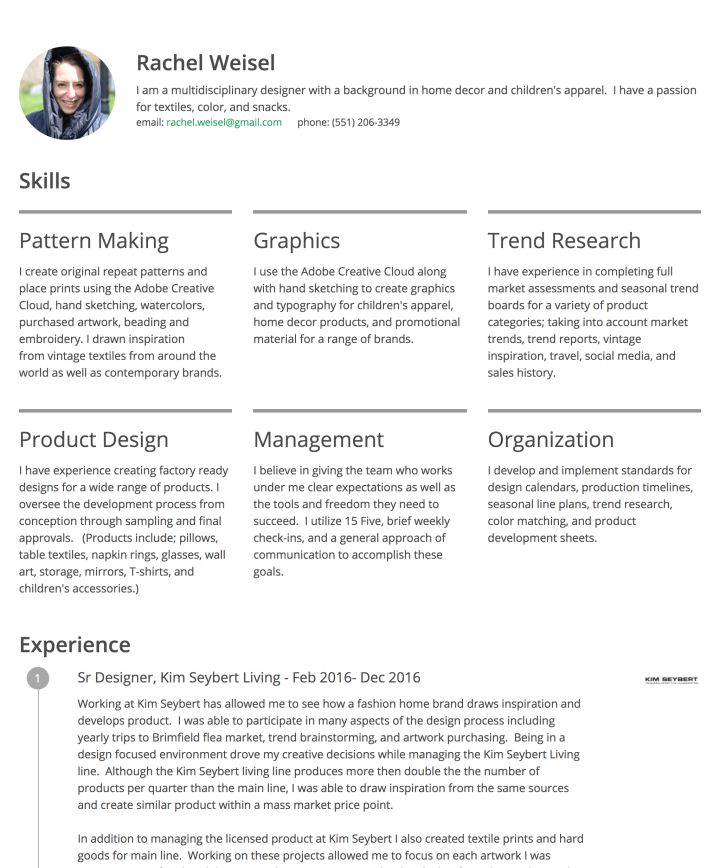 20 best resume examples images on pinterest