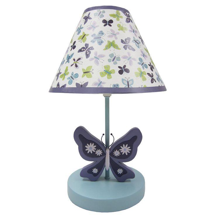 butterfly lamp butterfly nursery baby dougher faith s nursery nursery. Black Bedroom Furniture Sets. Home Design Ideas