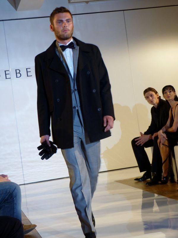 Model at the Debenhams Fashion Show in Munich - Sept 2012 - http://olschis-world.de/  #Debenhams #Menswear #fashion