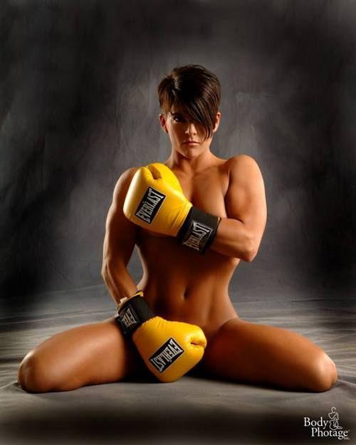 Naked Women Boxing 81