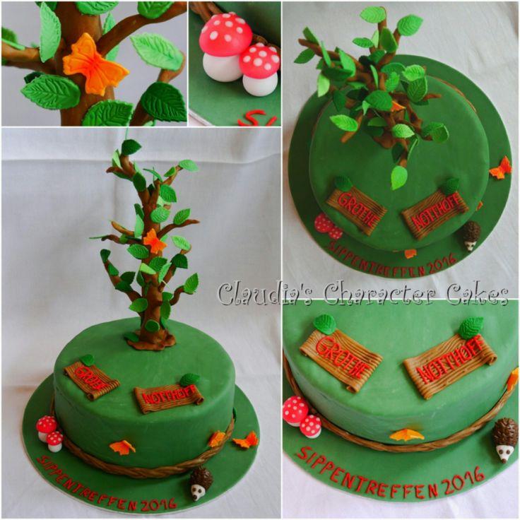 Stammbaum Torte | Family Tree Cake