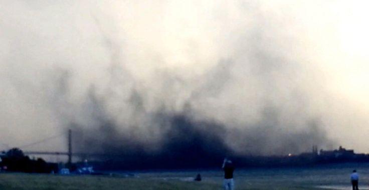 Massive petroleum coke cloud blows from Detroit into Windsor | Toronto Star