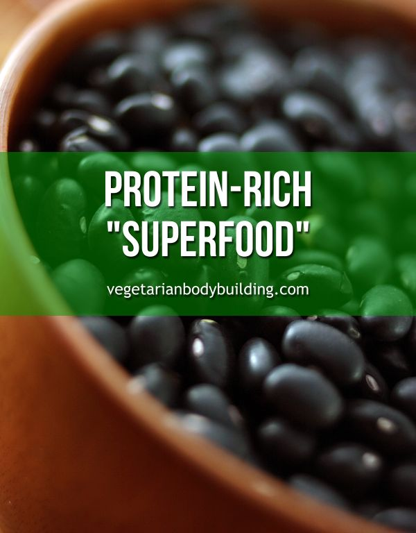 "BLACK BEANS ARE A CHEAP, PROTEIN-RICH ""SUPERFOOD"" - Beans in general are typically high on most nutritionists' lists. So why did I choose black beans to write about? READ MORE: https://www.vegetarianbodybuilding.com/black-beans-cheap-protein-rich-superfood/"