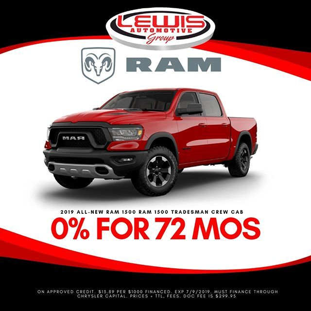 There S Still Time To Get 0 Financing For 72 Months On A New Ram At Lewis Chrysler Dodge Jeep Ram Of Hays Now Through July Automotive Group New Ram Chrysler