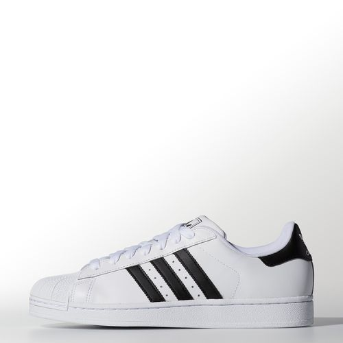 Still stepping forward with their iconic shell toe, these men's adidas  Originals Superstar shoes now have an eco-friendly full grain leather  upper, ...