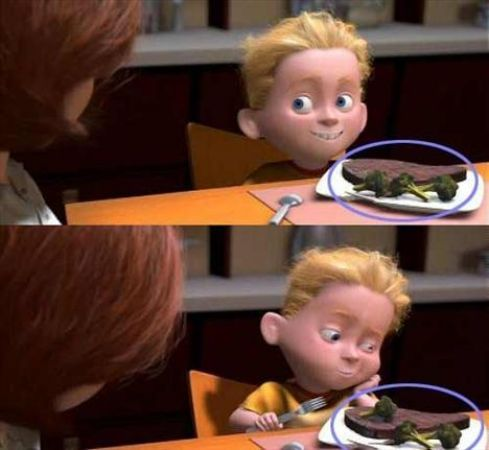 The Incredibles- brokoli