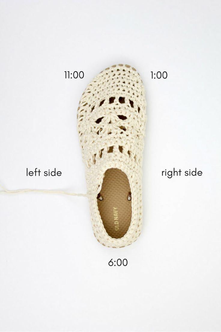 209 best tejido zapatos y botas images on Pinterest | Crochet shoes ...