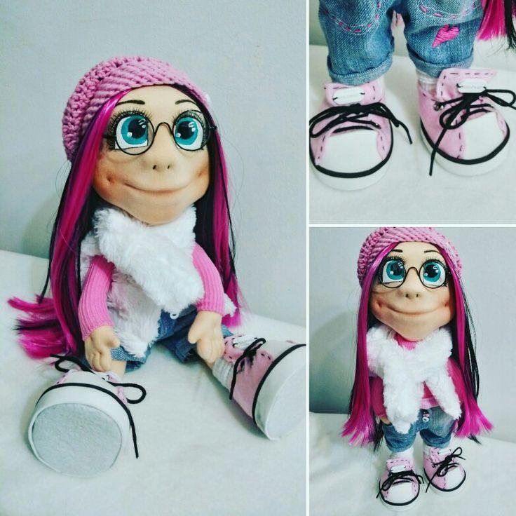 My handmade doll Agáta 😍