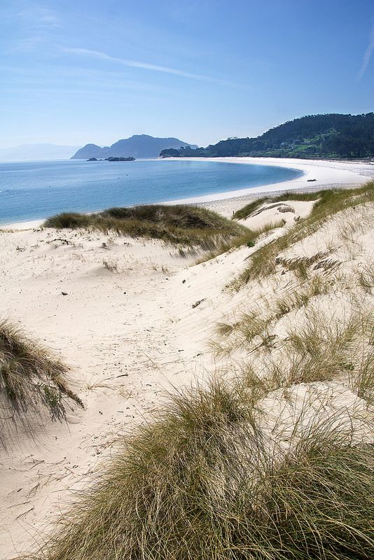 Playa de Rodas, Islas Cies. Galicia. Spain.