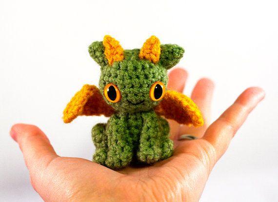 Baby Dragon Amigurumi Pattern : Super cute baby dragon amigurumi Haken - Amigurumi ...