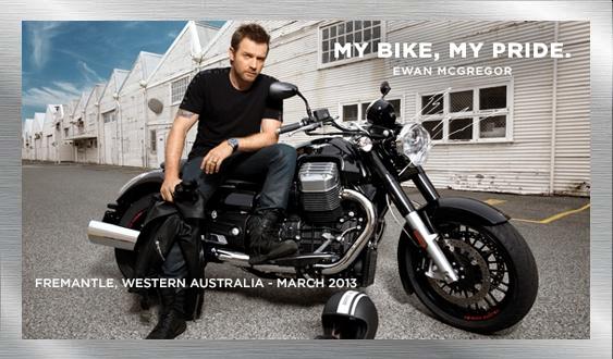 motoguzzi california Ewan McGregor