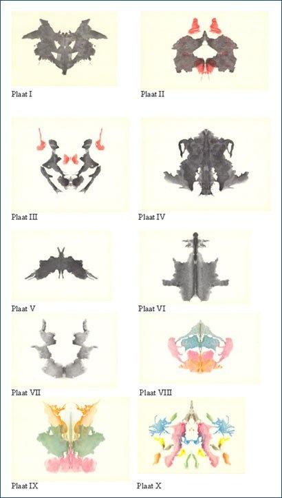Les 10 taches d'encre du test de Rorschach   La boite verte